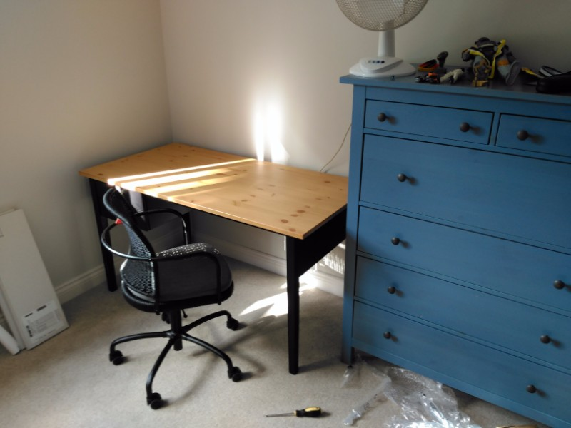 flat pack chest of drawers and desk Derby