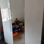 3 door mirror wardrobe