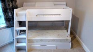 modern bunk bed assembly service Derbyshire