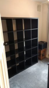 billy bookcase flatpack assembly