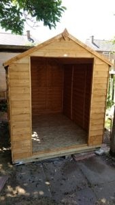 shed assembly Little Chester