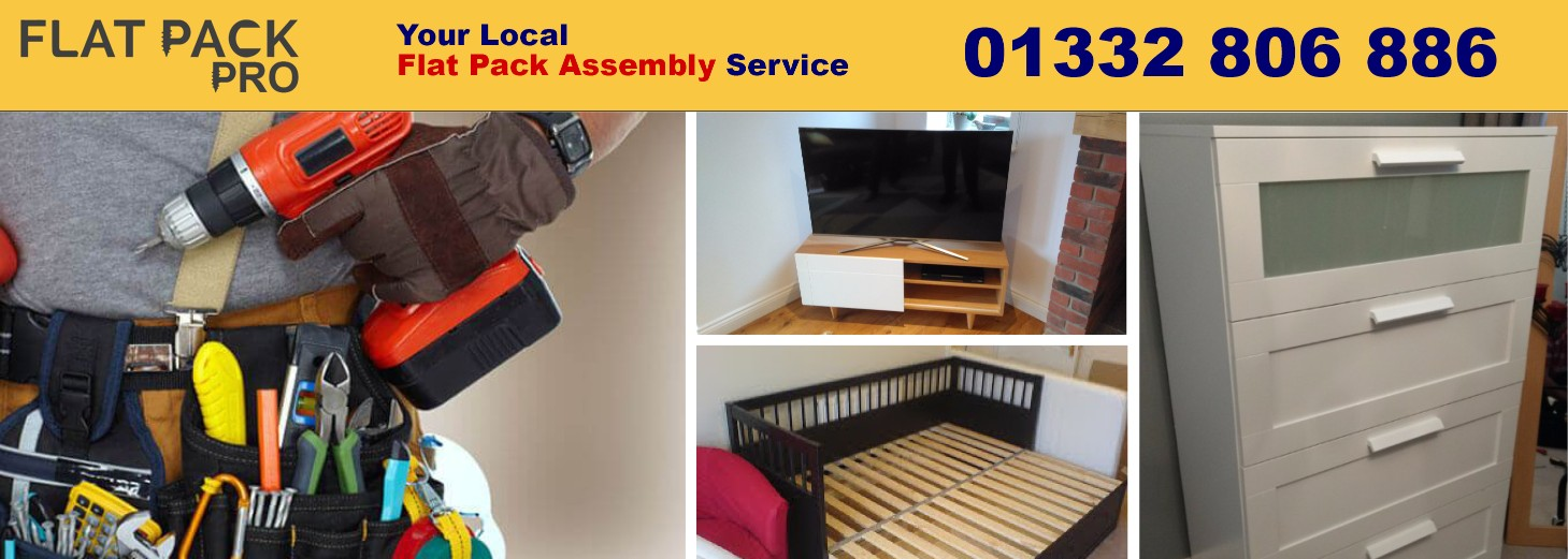 easy flat pack furniture Darley Abbey